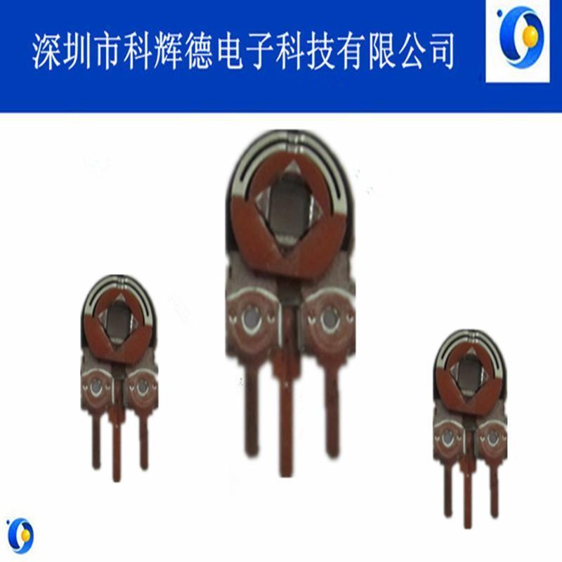 KHD品牌R083电位器三脚立式侧调碳膜铁壳单圈预调电位器深圳直销